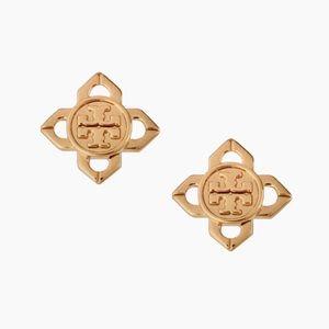 TORY BURCH • Gold Babylon Earrings